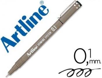 ROTULADOR ARTLINE CALIBRADO MICROMETRICO NEGRO EK-231 0.1 MM -RESISTENTE AL AGUA COD. 12164