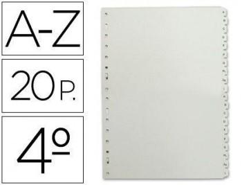 SEPARADOR ALFABETICO MULTIFIN PLASTICO 3002 COD 3836