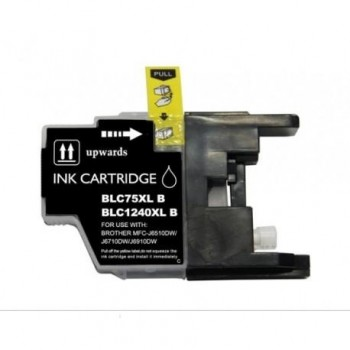 CARTUCHO COMPATIBLE BROTHER LC1240BK