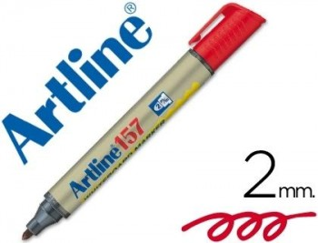 ROTULADOR ARTLINE PIZARRA EK-157 ROJO COD 22096