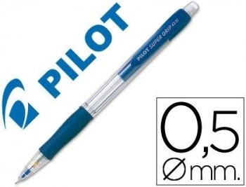 PORTAMINAS PILOT SUPER GRIP H-185 AZUL COD 38137