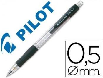 PORTAMINAS PILOT SUPER GRIP H-185 NEGRO COD. 38061