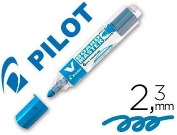 ROTULADOR PILOT VBOARD MASTER PARA PIZARRA BLANCA AZUL TINTA LIQUIDA TRAZO 2,3MM COD 47183