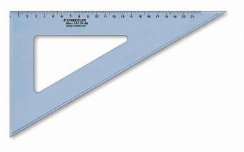 CARTABON 30 CM PLASTICO AZUL TRANSPARENTE GRADUDADO STAEDTLER 567 30-60