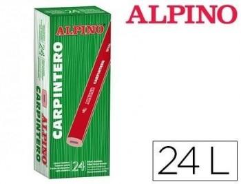 LAPICES ALPINO CARPINTERO CAJA DE 24 UNIDADES COD 62941