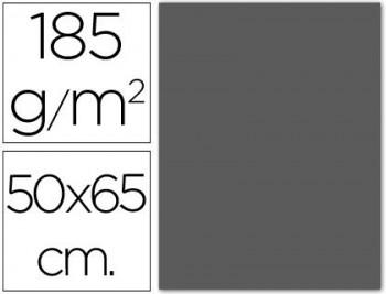 CARTULINA 50X65 185 G. GRIS PLOMO