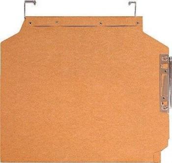 C/ 25 CARPETAS COLGANTES OFICISA 250X330 MM KRAFT VISOR LATERAL GIO REF 400021907