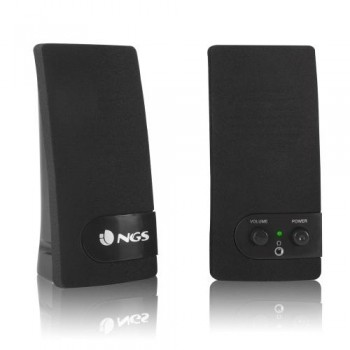 ALTAVOCES 2.0 NGS SB150 200 W - JACK 3,5MM - COLOR NEGRO - ALIMENTACION USB - 4W RMS