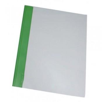 DOSSIER FASTENER DIN-A4 VERDE PVC 200 FLEXIBLE GRAFOPLAS