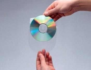 FUNDA AUTOADHESIVA PARA CD Q-CONNECT CON SOLAPA PACK DE 10 UNIDADES COD 46170