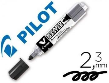 ROTULADOR PILOT VBOARD MASTER PARA PIZARRA BLANCA NEGRO TINTA LIQUIDA TRAZO 2,3MM COD 47182