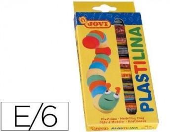 PLASTILINA JOVI -ESTUCHE DE 10 BARRAS COD 6195