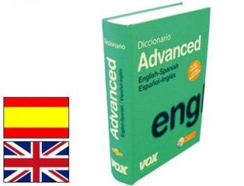 DICCIONARIO VOX ADVANCED INGLES ESPAÑOL-ESPAÑOL INGLES COD 21588