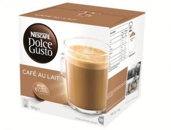 CAFE DOLCE GUSTO CAFE CON LECHE MONODOSIS CAJA DE 16 UNIDADES COD 59715