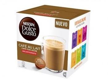 CAFE DOLCE GUSTO CAFE CON LECHE DESCAFEINADO MONODOSIS CAJA DE 16 UNIDADES COD 79994