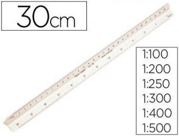 ESCALIMETRO FABER CASTELL 153-B -1:100-200-250-300-400-500