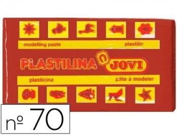 PLASTILINA JOVI 70 MARRON -UNIDAD -TAMAÑO PEQUEÑO COD 22123