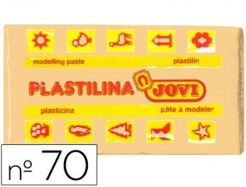 PLASTILINA JOVI 70 CARNE -UNIDAD -TAMAÑO PEQUEÑO COD 22124