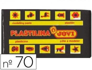PLASTILINA JOVI 70 NEGRO -UNIDAD -TAMAÑO PEQUEÑO COD 22131