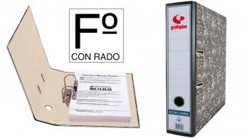 ARCHIVADOR AZ ECOCLASSIC FOLIO GRAFOPLAS CON RADO