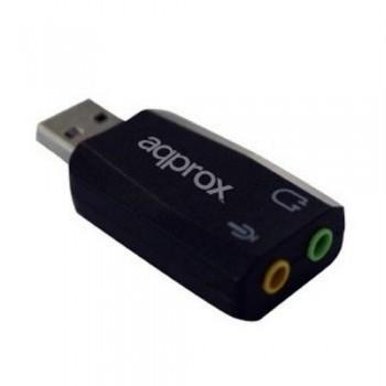 TARJETA DE SONIDO EXTERNA APPUSB51 5.1 USB 2.0 APPROX