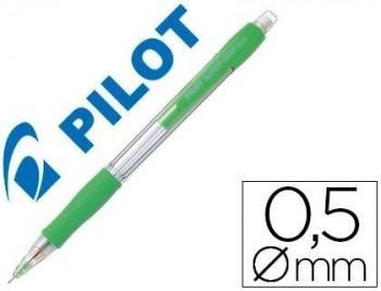 PORTAMINAS PILOT SUPER GRIP H-185 VERDE CLARO COD. 150278
