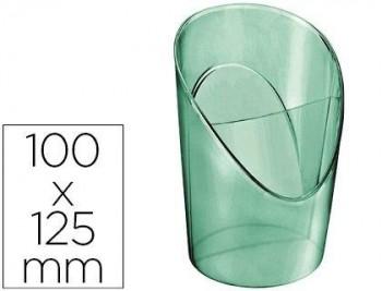 CUBILETE PORTALAPICES ESSELTE PLASTICO COLOUR ICE COLOR VERDE 100X125X90 MM