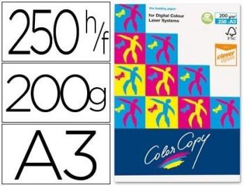 PAPEL FOTOCOPIADORA COLOR COPY DIN A3 200 GRAMOS PAQUETE DE 250 HOJAS COD 29245