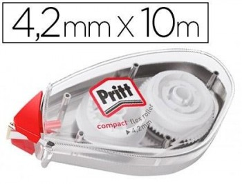 CORRECTOR PRITT ROLLER COMPACT FLEX 4,2 MM X 10 M COD 68112