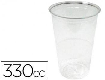 VASO DE PLASTICO TRANSPARENTE 330CC PAQUETE DE 50 COD 28094