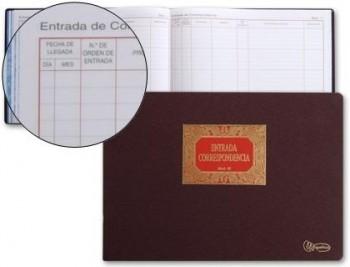 LIBRO MIQUELRIUS N. 42 FOLIO APAISADO 100 HOJAS -ENTRADA DE CORRESPONDENCIA COD 4637