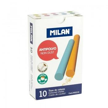C/ 10 TIZAS COLORES ANTIPOLVO MILAN
