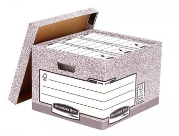 CONTENEDOR DE ARCHIVOS FELLOWES BANKERS BOX 430X380X287MM GRIS