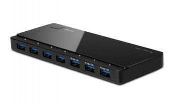 HUB 7 PUERTOS TPLINK UH700 3.0 USB - CABLE 1M - ALIMENTADOR