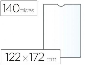 C/ 100 FUNDAS PORTACARNETS 120Q 122X172 MM PVC TRANSPARENTE 140 MICRAS ESSELTE RF. 46008