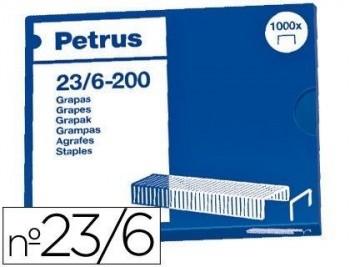 CAJA 1.000 GRAPAS 23/6 PETRUS