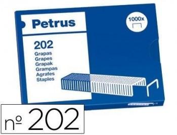 CAJA 1.000 GRAPAS BAMBINA PETRUS Nº 202