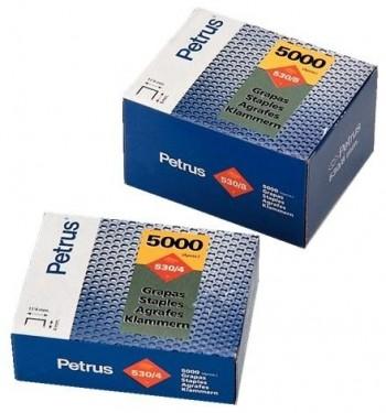 C/ 5.000 GRAPAS PETRUS 530/6 (6 MM)