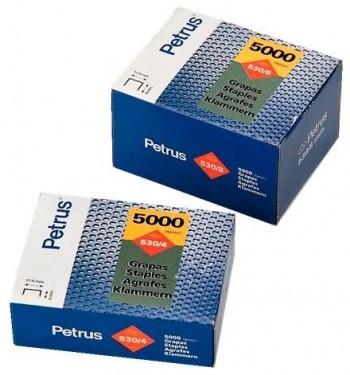 C/ 5.000 GRAPAS PETRUS 530/10 (10 MM)