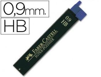 TUBO MINAS 0,9 MM FABER CASTELL 9069 HB COD 22638