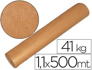 ROLLO PAPEL KRAFT MARRON 1,10 X 500 MTS
