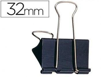 C/ 12 PINZAS ABATIBLES 32 MM SPAPER