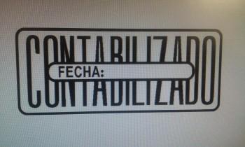 SELLO MANUAL FRAMUN \cCONTABILIZADO FECHA\c