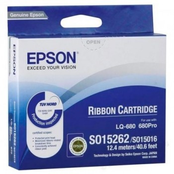 CINTA EPSON S015262/S015016 LQ-/670/680/860/1060/2500/2550 DLQ-/2000