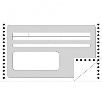 C/ 1500 RECIBOS OFICIALES EN CONTINUO 240X 4 APLI RF. 132