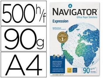 P/ PAPEL 500 H. DIN A-4 NAVIGATOR EXPRESSION 90 GRS