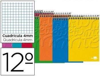 BLOC ESPIRAL DOCEAVO APAISADO WRITE TAPA BLANDA 80 H. 60 GR LIDERPAPEL COD. 00730