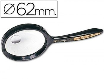 LUPA CRISTAL BIFOCAL 7508 62 MM. -MANGO CURVO COD. 04882