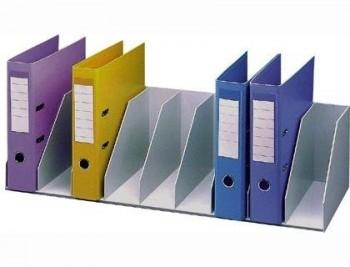 ORGANIZADOR DE ARMARIO FAST- PAPERFLOW GRIS. BALDAS FIJAS 802 MM 9 COMPARTIMENTOS COD. 34807