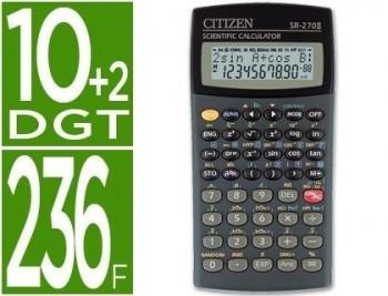 CALCULADORA CITIZEN CIENTIFICA SR-270N 10+2 DIGITOS COD 25974